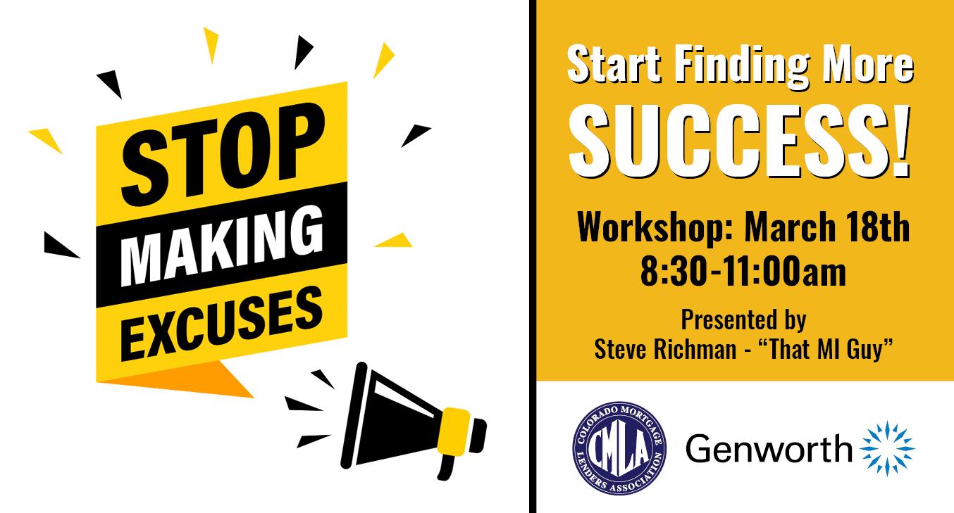 CMLA No Excuses Workshop