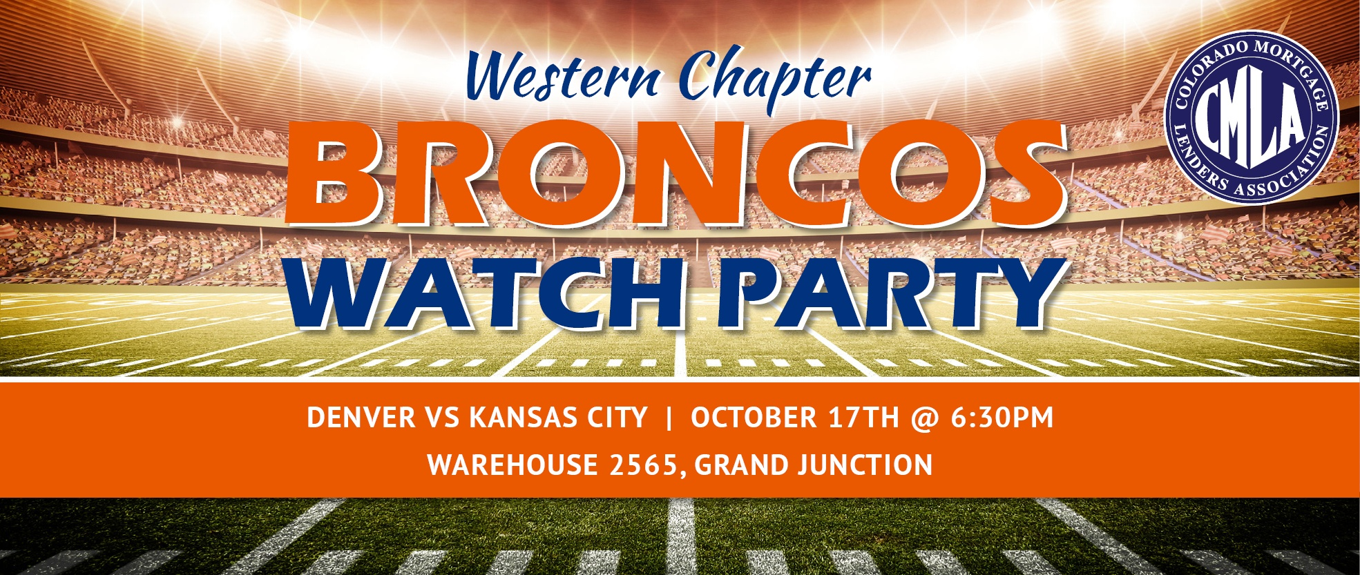 Western Broncos Watch Party