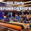 BOL Party Sponsorships