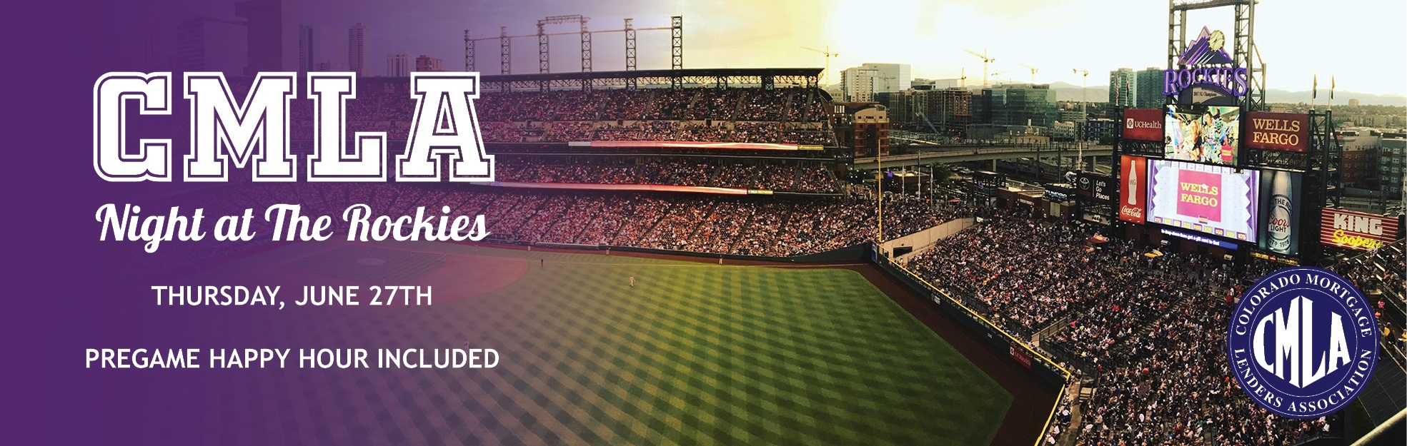 Rockies Game and Networking